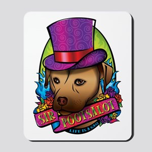 Sir Pootsalot Mousepad
