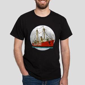 The Lightship Chesapeake Dark T-Shirt