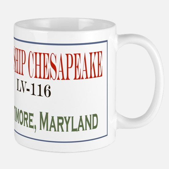 Cute Lady maryland sailing ship Mug