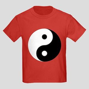Yin And Yang Kids Dark T-Shirt