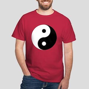 Yin And Yang Dark T-Shirt