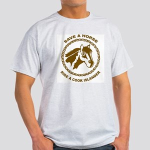 Ride A Cook Islander Ash Grey T-Shirt