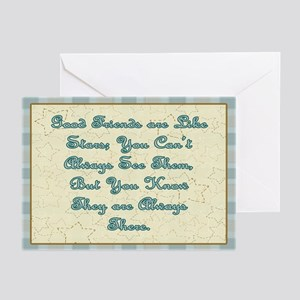 Friends are like Stars Greeting Cards (Pk of 10)