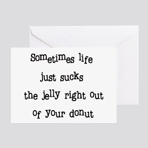 Jelly Donut card