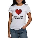 Love History Centers Women's T-Shirt