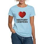 Love History Centers Women's Light T-Shirt