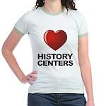 Love History Centers Jr. Ringer T-Shirt