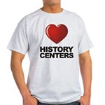 Love History Centers Light T-Shirt