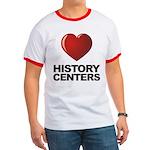 Love History Centers Ringer T