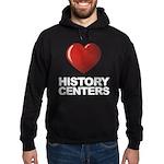 Love History Centers Hoodie (dark)