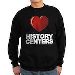 Love History Centers Sweatshirt (dark)