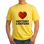 Love History Centers Yellow T-Shirt