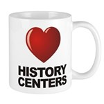 Love History Centers Mug