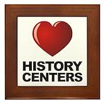 Love History Centers Framed Tile