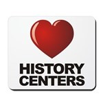 Love History Centers Mousepad