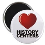 Love History Centers Magnet