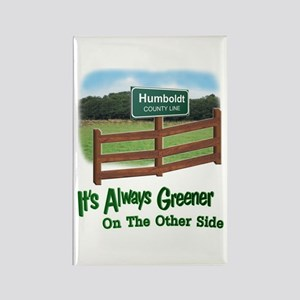 Humboldt County Rectangle Magnet