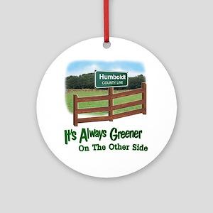 Humboldt County Ornament (Round)