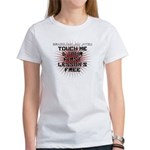 Touch me, 1st lesson's free Women's T-Shirt