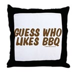 Labor Day Barbecue Throw Pillow