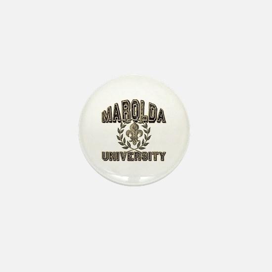 Marolda Last Name University Mini Button