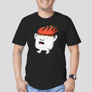 Marshmallow Men's Fitted T-Shirt (dark)