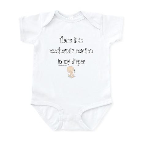 Exothermic Reaction Infant Bodysuit