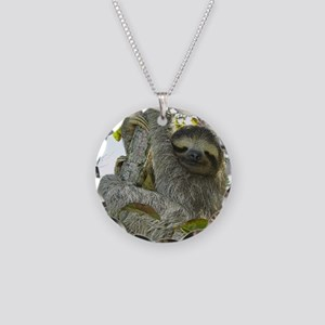 Live Life Like a Sloth Necklace