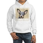 Miniature Pinscher Hooded Sweatshirt