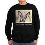 Miniature Pinscher Sweatshirt (dark)