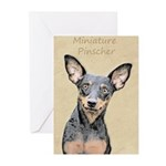 Miniature Pinscher Greeting Cards (Pk of 20)