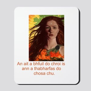 Celtic Irish Gaelic Mousepad