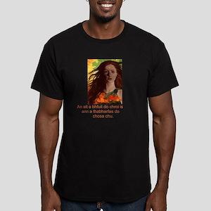 Celtic Irish Gaelic Men's Fitted T-Shirt (dark)