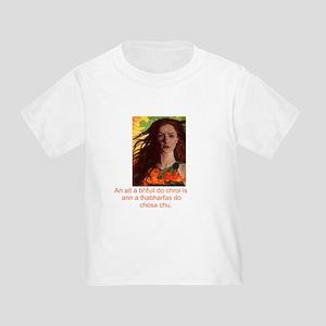 Celtic Irish Gaelic Toddler T-Shirt