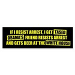 Beer at the White House Bumper Sticker