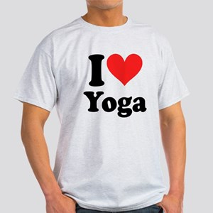 I Heart Yoga: Light T-Shirt