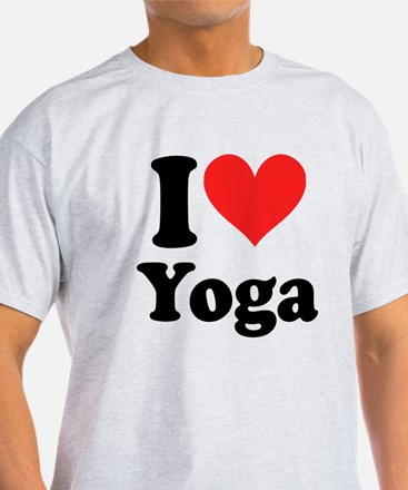 I Heart Yoga: T-Shirt