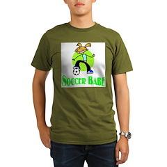 Soccer Babe Organic Men's T-Shirt (dark)