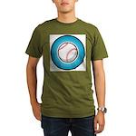 Baseball 2 Organic Men's T-Shirt (dark)