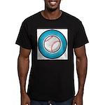 Baseball 2 Men's Fitted T-Shirt (dark)