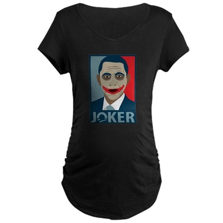 Anti-Obama Joker Maternity Dark T-Shirt