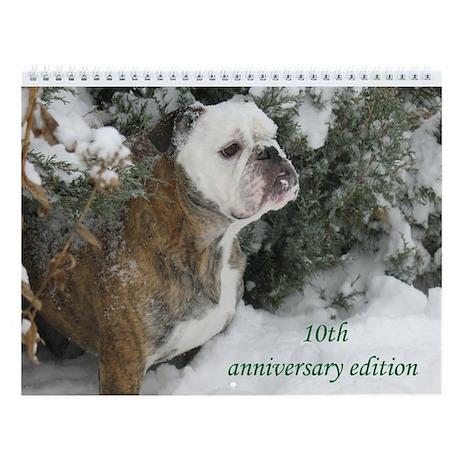 Bulldogsworld 10th Anniversary Wall Calendar