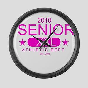 Seniors 2010 Large Wall Clock