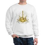 Golden Winged Guitar Sweatshirt