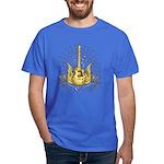 Golden Winged Guitar Dark T-Shirt