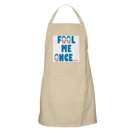 Fool Me Once... BBQ Apron