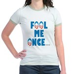 Fool Me Once... Jr. Ringer T-Shirt