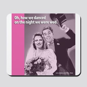 Gay Wedding Ceremony Mousepad