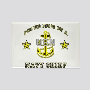 Chief Mom Rectangle Magnet