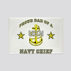 Chief Dad Rectangle Magnet
